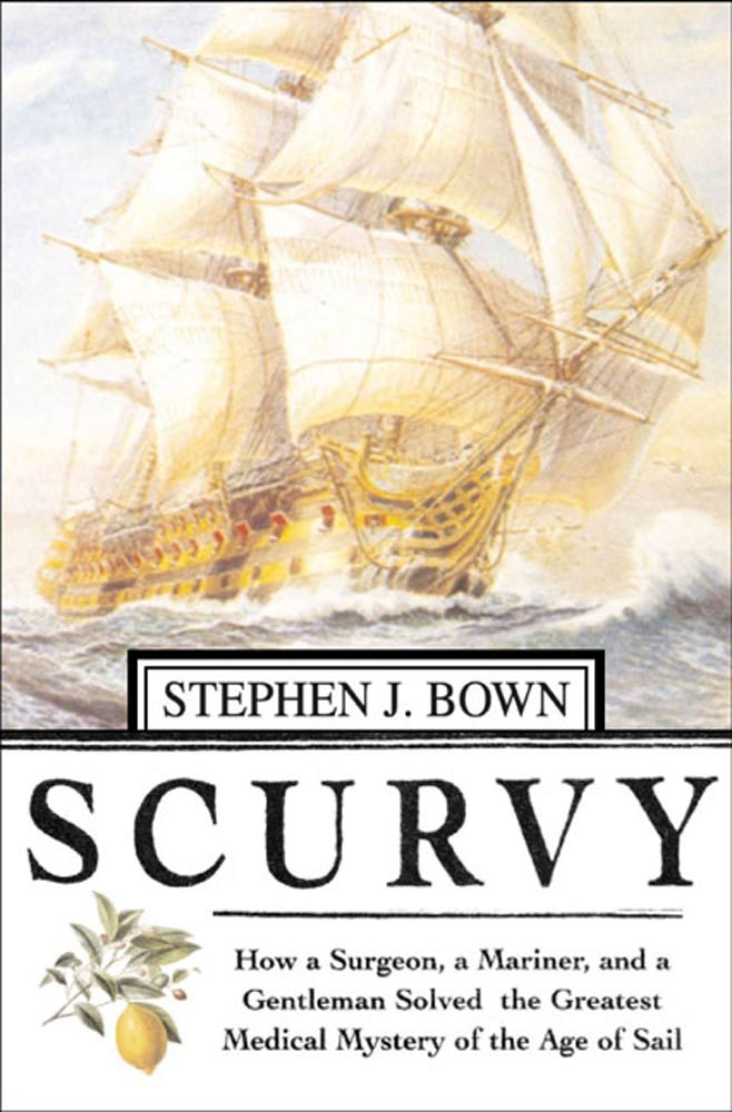 Treatment of scurvy in adults