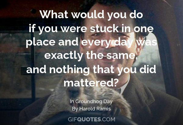 Groundhog Day Quotes | Happy Groundhog Day Gif Quotes