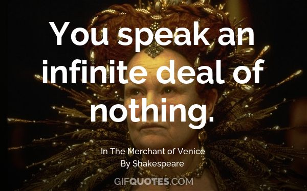 The Merchant Of Venice Quotes | The Quality Of Mercy Is Not Strained Gif Quotes