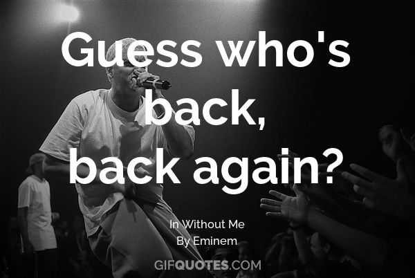 25+ Best Memes About Guess Whos Back Back Again | Guess ...