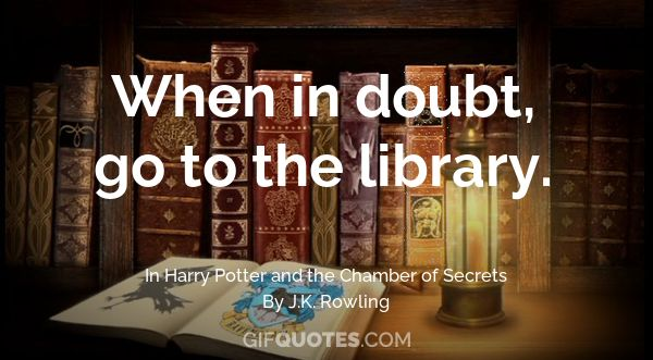 Keep Calm And Go To The Library GIF QUOTES Enchanting Library Quotes