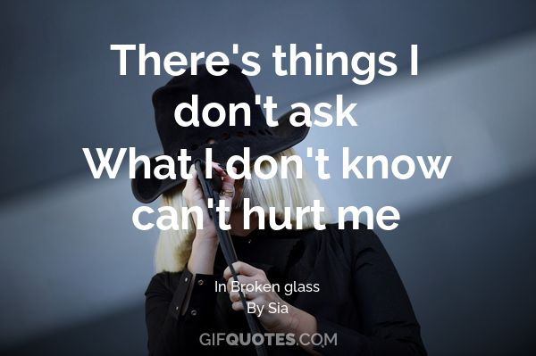 what you don t know can t hurt you