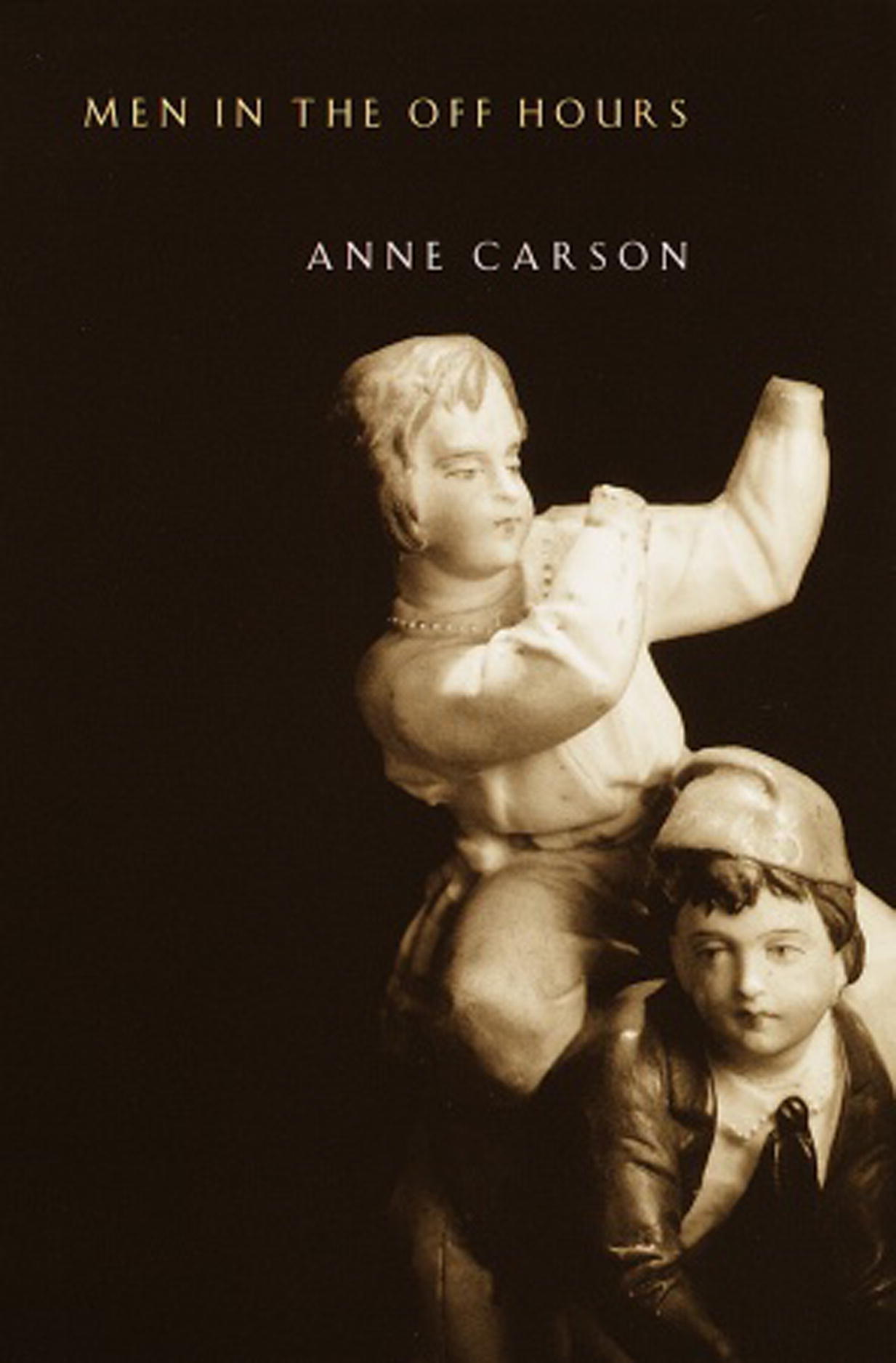 anne carson plainwater essays and poetry
