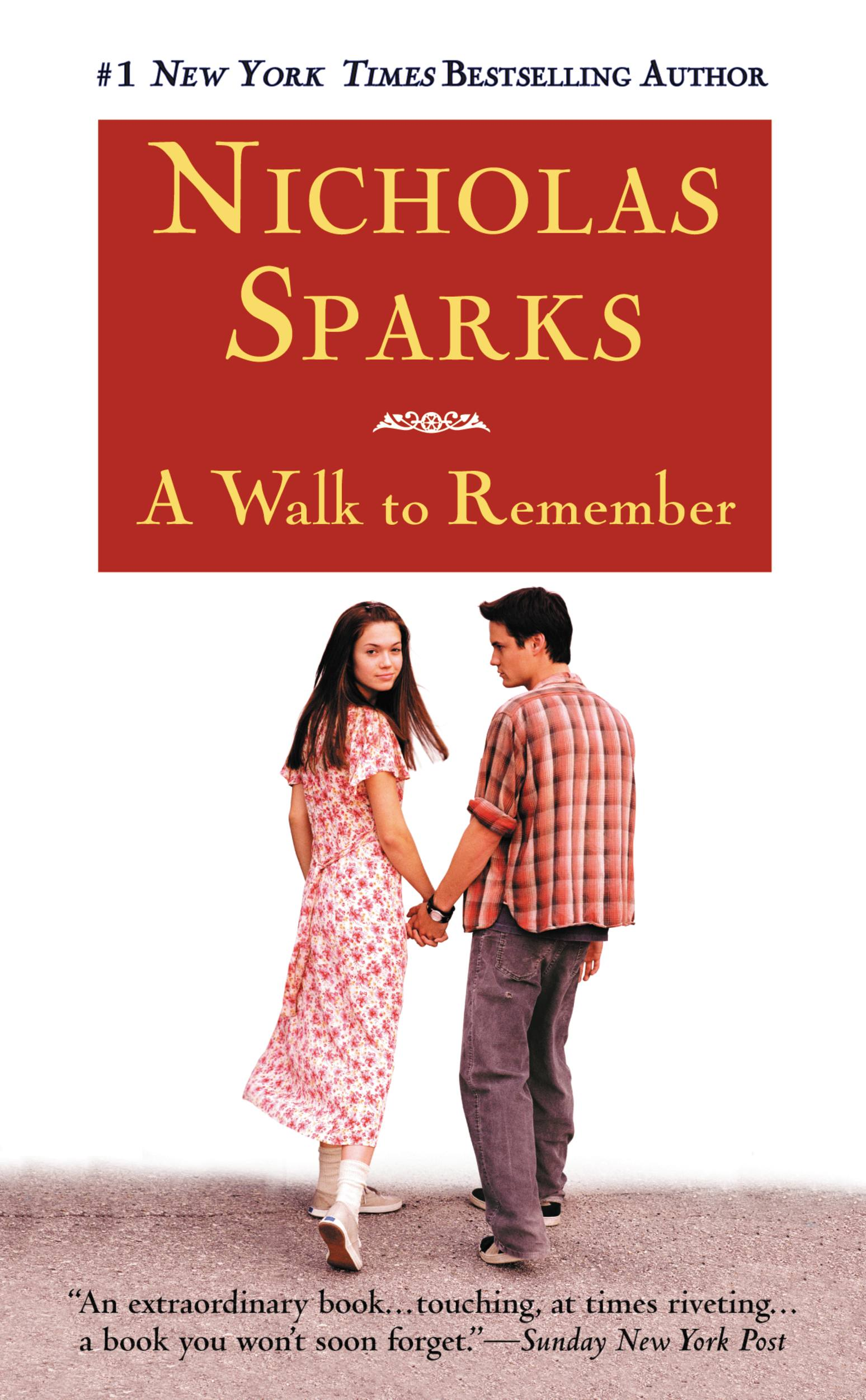 a walk to remember book vs movie essay Although i had not seen the movie myself  based on the book by nicholas sparks a walk to remember is an antidote to hollywood's raging cynicism about.