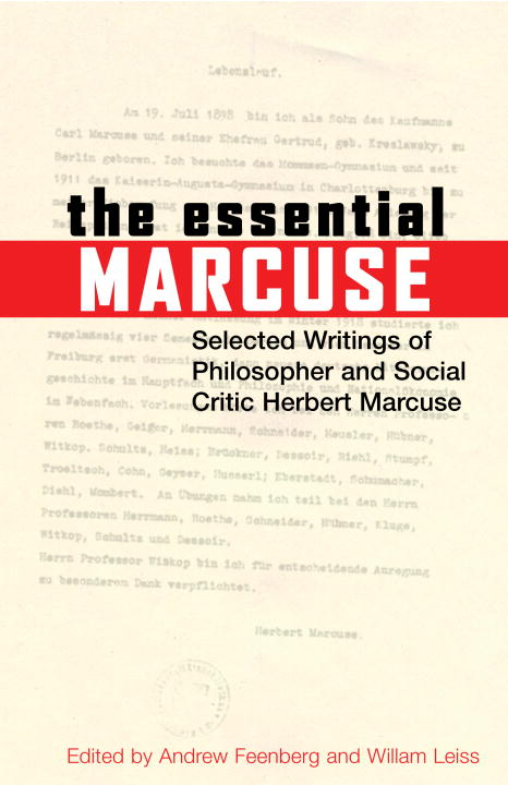 an essay on liberation marcuse An essay on liberation: herbert marcuse: 0046442005951: books - amazonca amazonca try prime books go search shop by department en hello sign in.