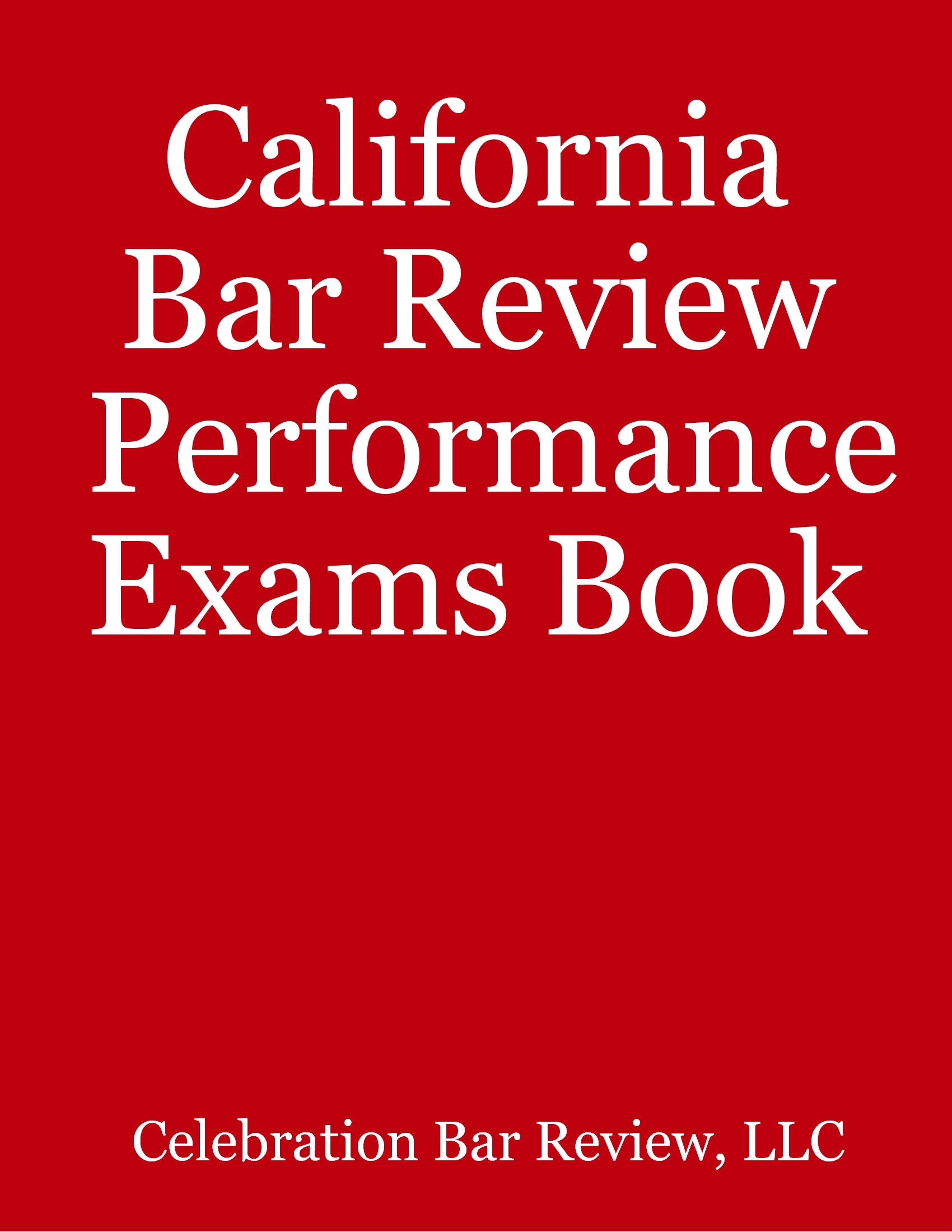 bar review essay