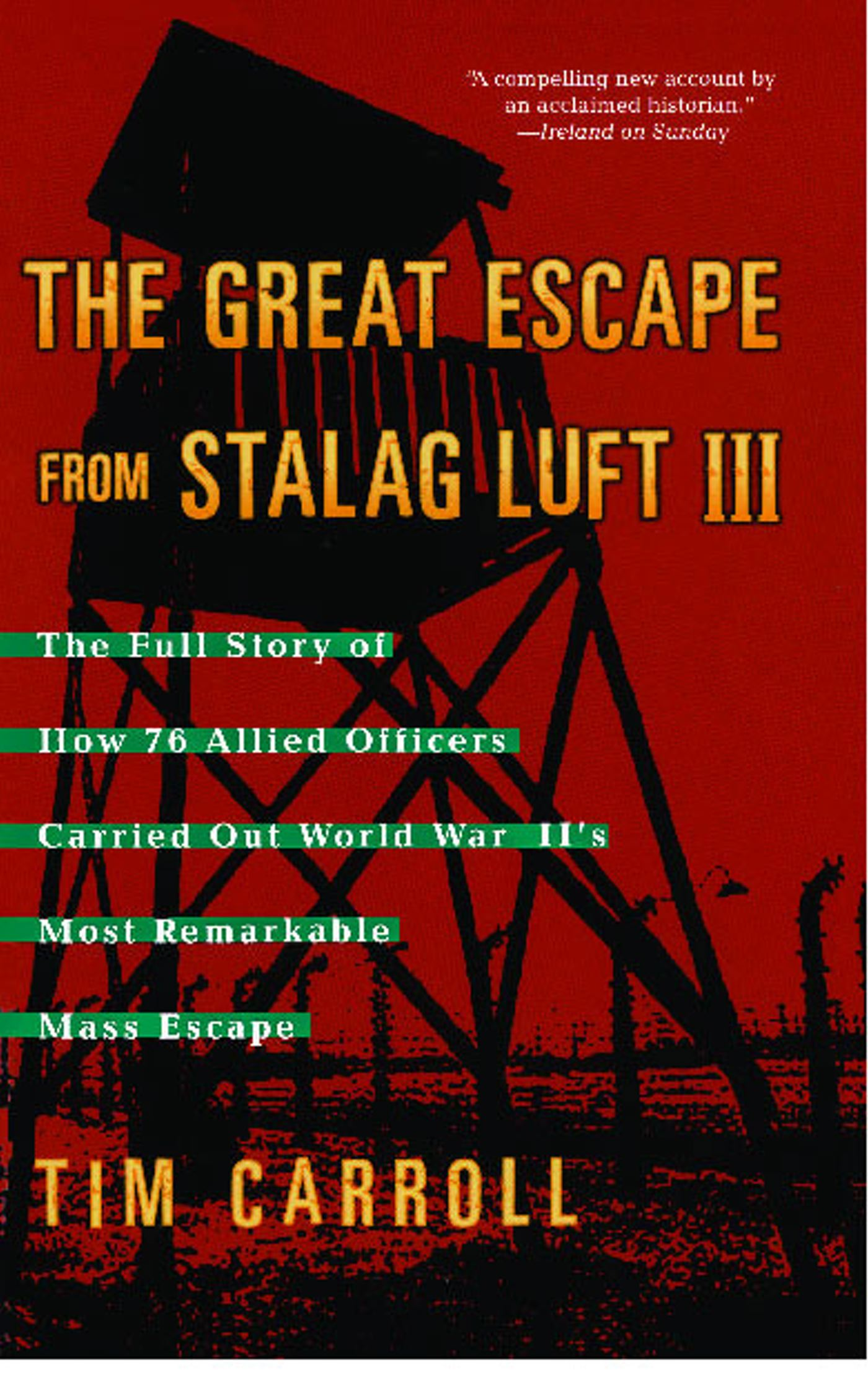 the great escape book report