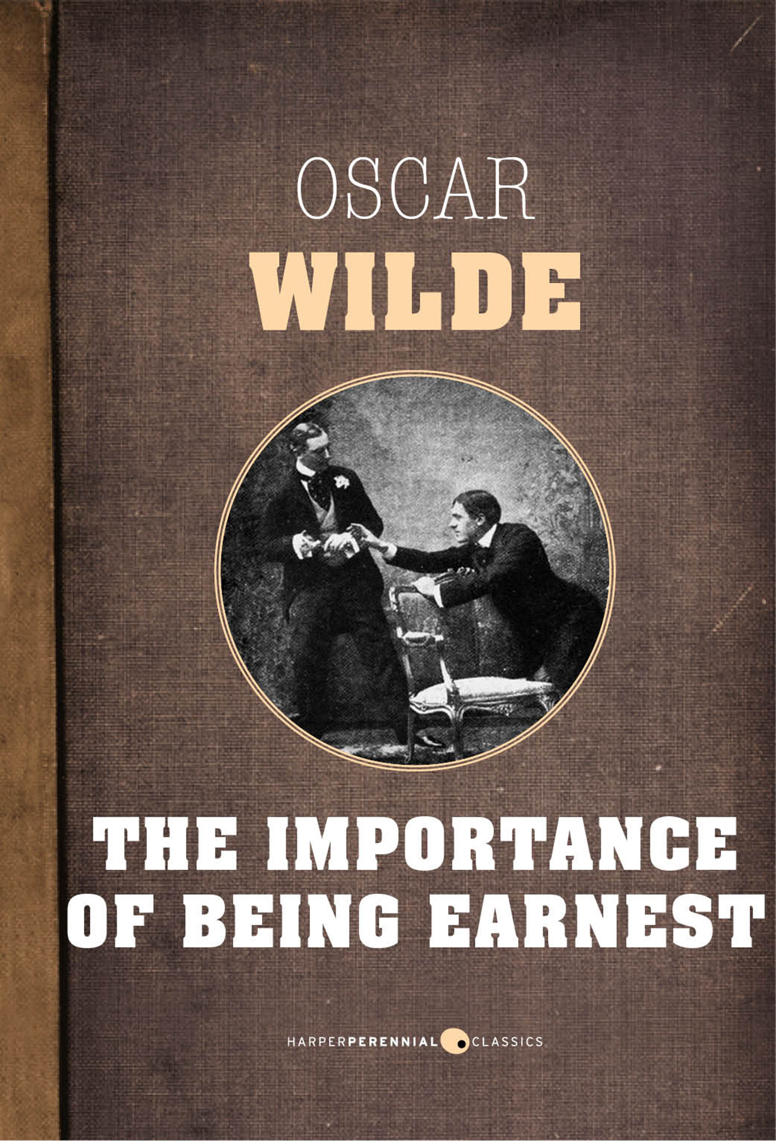 a review of oscar wildes the importance of being ernest