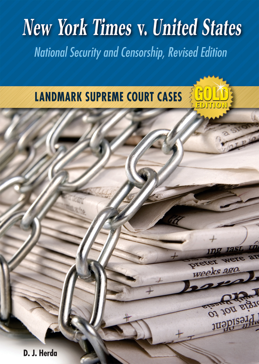 a review of the new york times v united states case New york times co v united states combining the cases against both the new york times and the washington post in case you us history review.