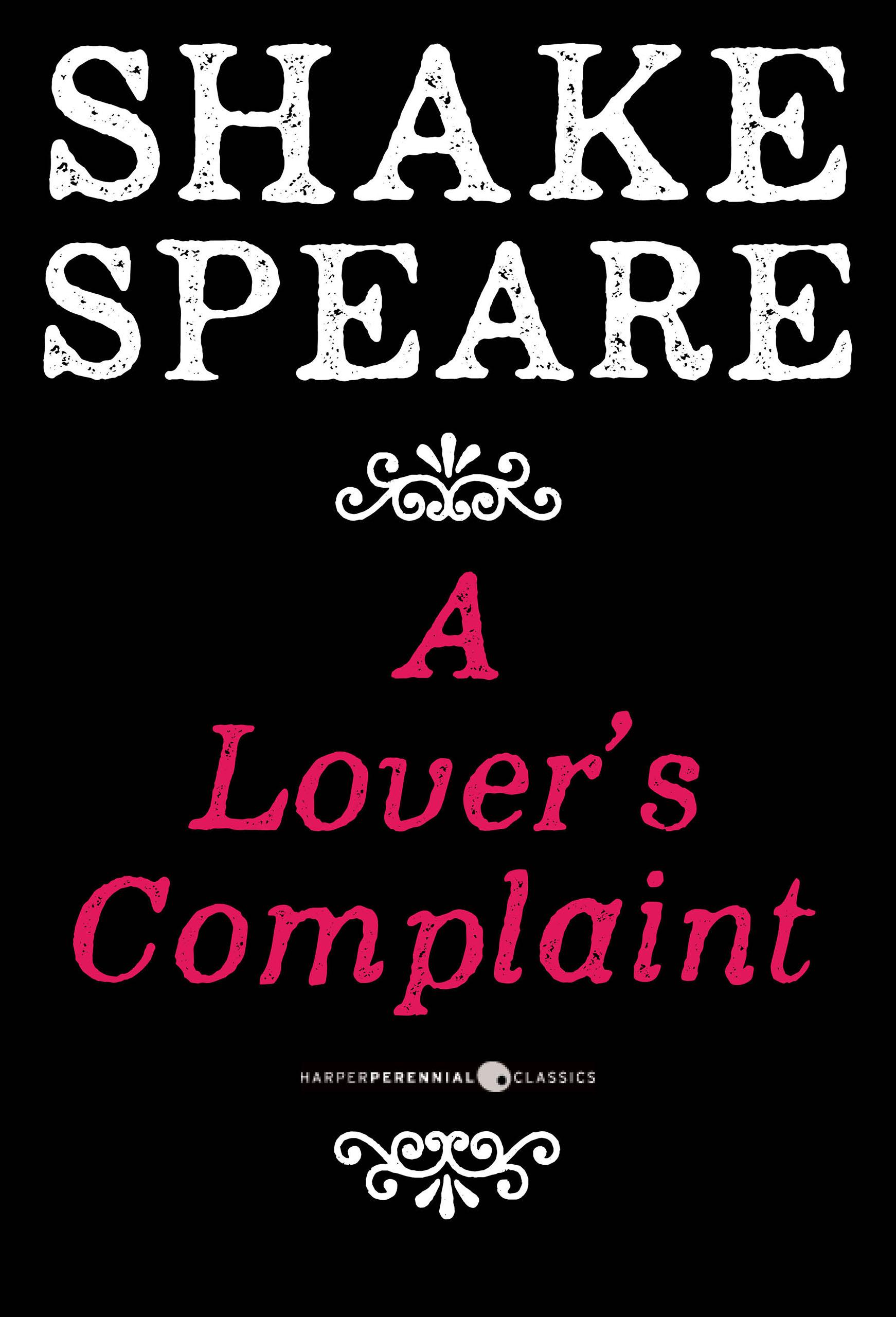 a lover s complaint