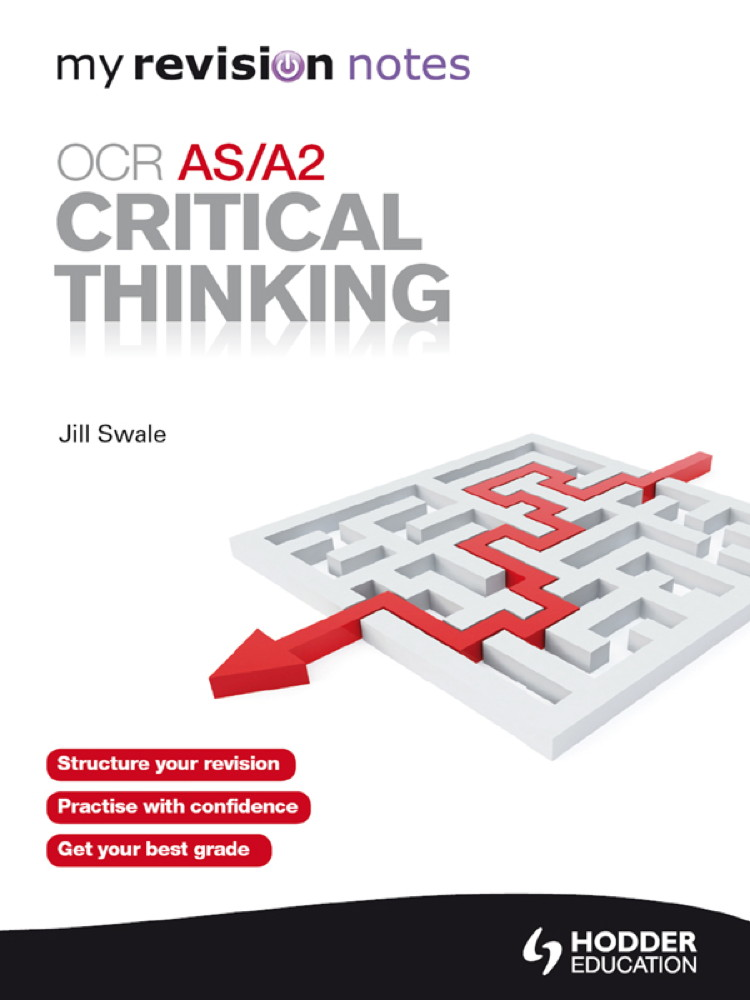 critical thinking as level revision