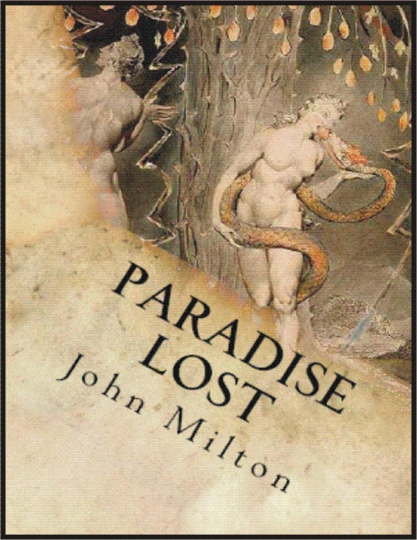 the suffering of satan in paradise lost a poem by john milton