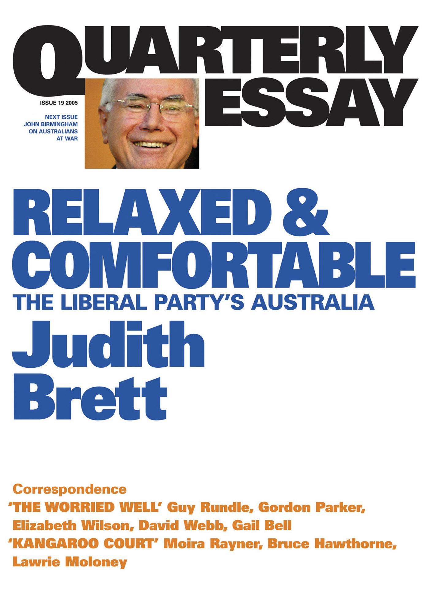 quaterly essay